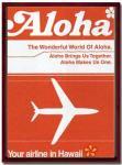 《アートフレーム》Aloha Airline  Aloha(アロハ エアライン アロハ)