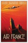 《ポスターフレーム》Maurus Air France Afrique(マウルス エールフランス アフリック)