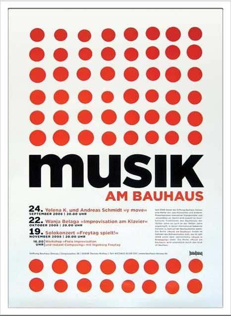 《アートフレーム》Bauhaus Musik am Bauhaus2(バウハウス)