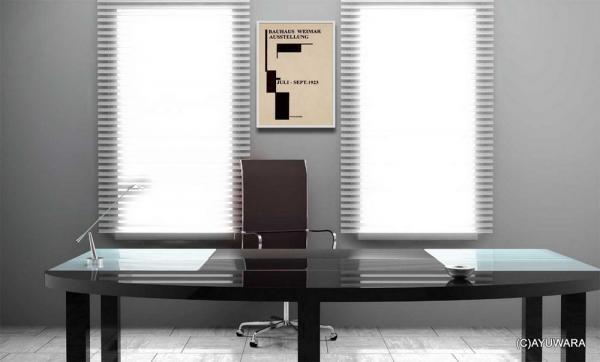 《アートフレーム》Bauhaus Archiv 1996 doppelpunkt(バウハウス)