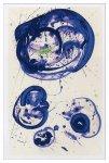 《絵画・抽象画》サム・フランシス トウキョウ ブルー,1961(シルクスクリーン)