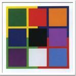《絵画・抽象画》ジョー・デラホー サン ティトゥル,1987(シルクスクリーン)