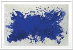 《絵画・抽象画》イヴ・クライン オマージュ ア テネシー ウィリアムズ(シルクスクリーン)