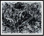 《絵画・抽象画》ジャクソン・ポロック ナンバー33,1949(シルクスクリーン)