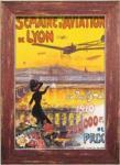 《ポスターフレーム》B4 Old Time Travel Poster(オールドタイム トラベルポスター)