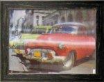 《ポスターフレーム》3D Poster Red Car(スリーディーポスター レッドカー)