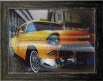 《ポスターフレーム》3D Poster Yellow Cab(スリーディーポスター イエローキャブ)