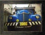《ポスターフレーム》3D Poster Blue Truck(スリーディーポスター ブルートラック)