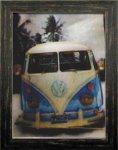 《ポスターフレーム》3D Poster Volkswagen(スリーディーポスター フォルクスワーゲン)