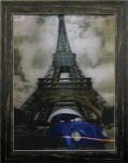 《ポスターフレーム》3D Poster Eiffel Tower & Beetle(スリーディーポスター エッフェル塔とビートル)