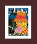 《ポスターフレーム》Air Line Delta Air Lines(エアライン デルタ エアーラインズ)(ゆうパケット)