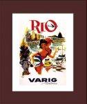 《ポスターフレーム》Air Line Varig Air Lines(エアライン ヴァリグ エアーラインズ)(ゆうパケット)