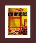 《ポスターフレーム》Air Line Trans World Air Lines(エアライン トランス・ワールド航空)(ゆうパケット)