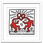 《アートフレーム》Keith Haring Untitled,1989(キース・ヘリング アンタイトル、1989)