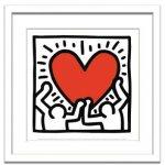 《アートフレーム》Keith Haring Untitled,1988(キース・ヘリング アンタイトル、1988)