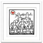 《アートフレーム》Keith Haring One Man Show[detail 2](キース・ヘリング ワンマンショー[ディテール2])