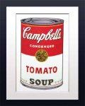 《アートフレーム》Warhol Campbell's Soup(Tomato)(アンディ・ウォーホル キャンベルのスープ(トマト))