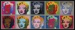 《アートフレーム》Warhol Ten Marilyns,1967(アンディ・ウォーホル テン マリリンズ、1967)