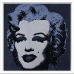 《アートフレーム》Andy Warhol Marilyn.1967 black(アンディ・ウォーホル マリリン、1967 ブラック)