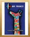 《アートフレーム》Raymond Savignac Air France(レイモン サビニャック エールフランス)
