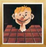 《アートフレーム》Raymond Savignac Chocolat(レイモン サビニャック ショコラ)