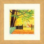 《水彩画》Harumi Kurinoki-S 金色の季節(栗乃木 ハルミ)