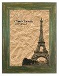 《額縁》Classic Wide Frame Green A4(クラシック ワイドフレーム グリーン A4)