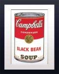 《アートフレーム》Warhol アンディ・ウォーホル キャンベルのスープ(クロマメ)