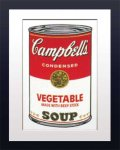 《アートフレーム》Warhol アンディ・ウォーホル キャンベルのスープ(野菜)