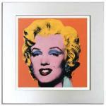 《アートフレーム》Warhol アンディ・ウォーホル ショットオレンジ マリリン、1964)
