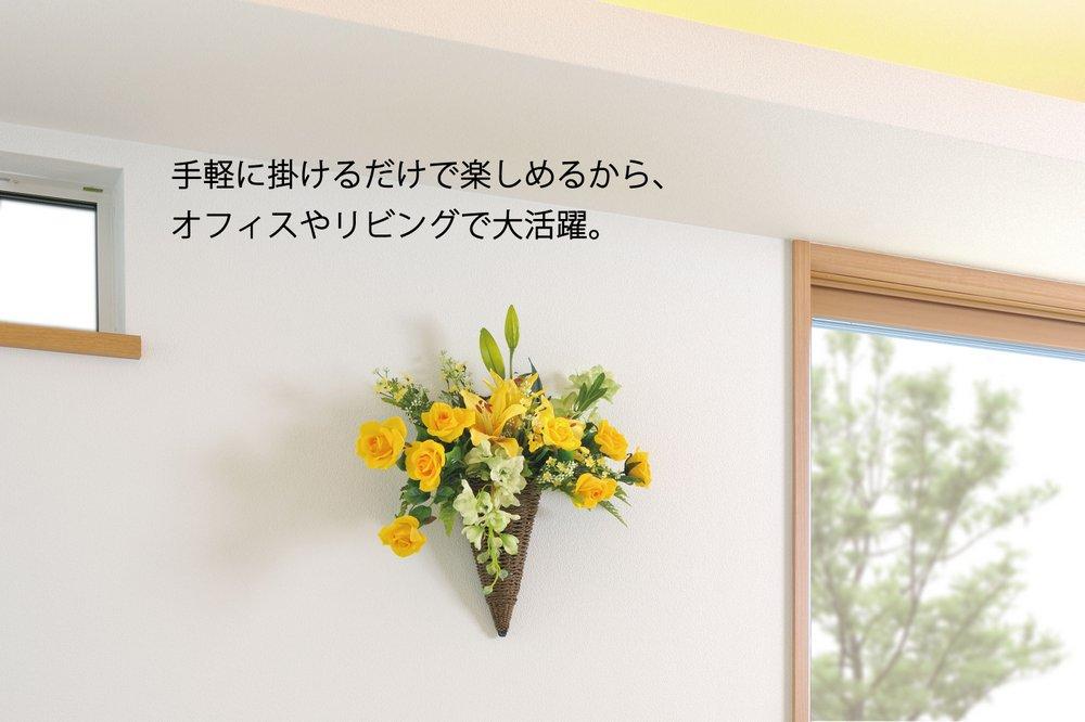 《アートフラワー》ナタリ−ロ−ズ〔壁掛けタイプ〕