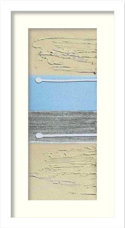《絵画》HILL LINDSAY BLUE OREO I(ブルー オレオ1)