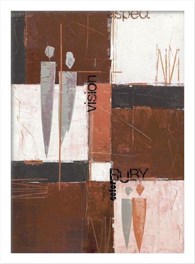 《絵画・抽象画》JONAS HORST VISION IV(ビジョン4)