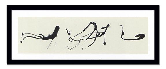 《絵画・抽象画》Jackson Pollock ジャクソン ポロック Zeichnung tropftechnik