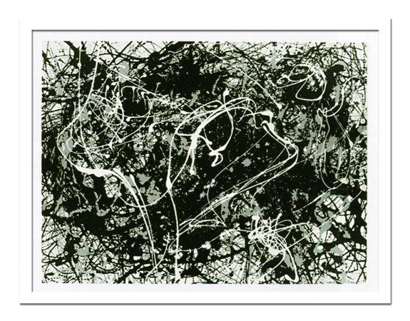 《絵画・抽象画》Jackson Pollock ジャクソン ポロック Number 33(ナンバー33)