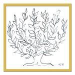 《名画・抽象画》Henri Matisse アンリ マティス Le platane, 1951(プラタナス、1951)
