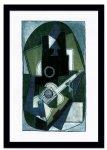 《名画・抽象画》Pablo Picasso パブロ ピカソ L'Homme a la Guitare, 1918