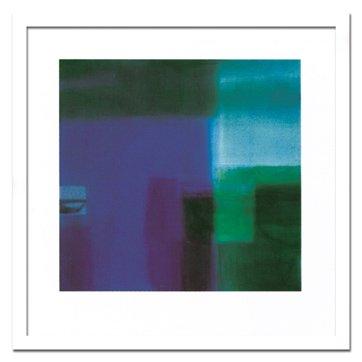 《絵画・抽象画》Stahli, Susanne Untitled blue,2004(アンタイトルド ブルー)