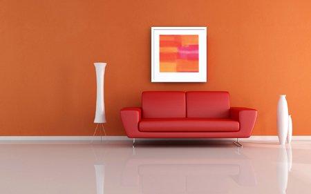 《絵画・抽象画》Stahli, Susanne Untitled orange,2004(アンタイトルド オレンジ2004)