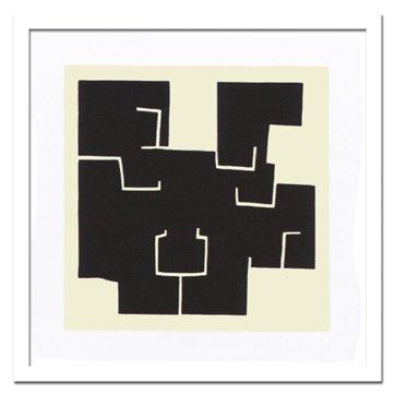 《絵画・抽象画》Thierry, Montigny ティエリー モンチニー Cuzco, 2008(クスコ2008)