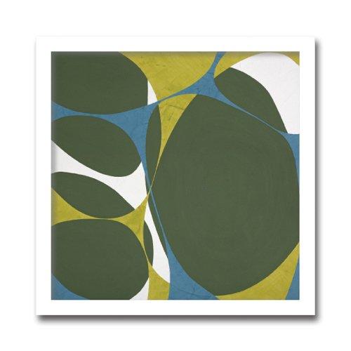 《絵画・抽象画》Marilu Datali Hartnett Flower Power 15(フラワーパワー)