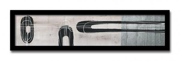《絵画・抽象画》Jeremy Cangialosi Retro I(レトロ)