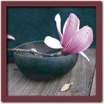 《アートフレーム》Amelie VUILLON アメリ ヴイヨン Pink flower(ピンクフラワー)