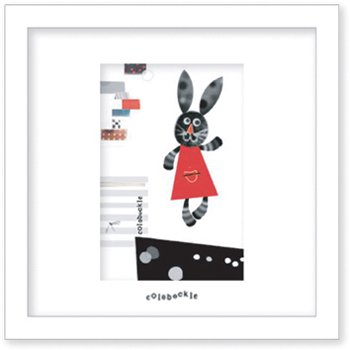 《アートフレーム》Colobockle コロボックル クロウサギ(ゆうパケット)