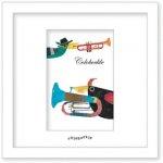 《アートフレーム》Colobockle コロボックル トランペット(ゆうパケット)