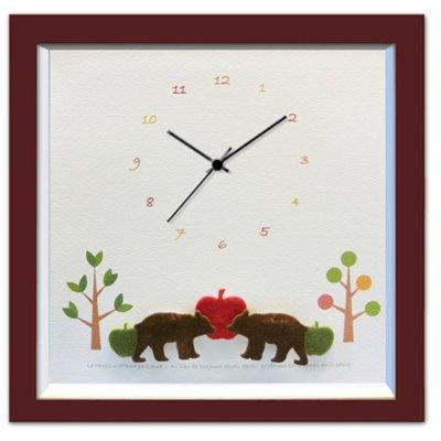 《時計》クマ/BR