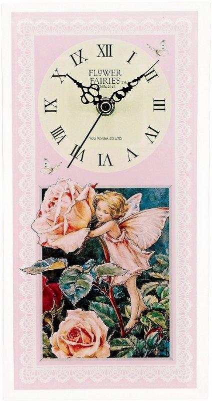 《時計》フラワーフェアリーズ クロック ローズフェアリー