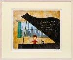《版画》はりたつお グランドピアノ