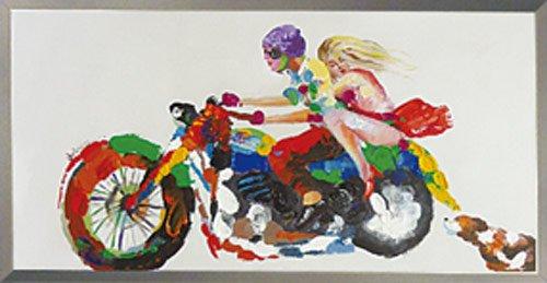 《手描き油絵》オイル ペイント アート グッドライバル