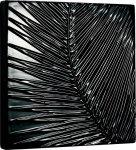 《リーフパネル》セラミック ウォール パネル フェニックス (ブラック)(ゆうパケット)